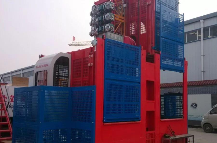 施工电梯 施工升降机 物料提升机 九虹重工